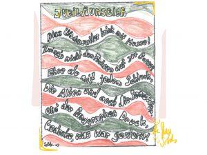 Jubiläumsbier Rückseite: Etikette by Sold