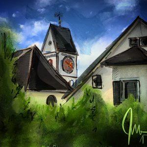 Reformierte Kirche Birmensdorf Variation