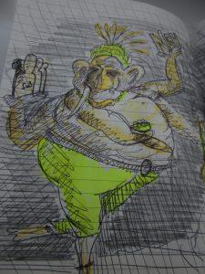 tanzender Ganesha