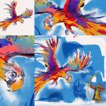 Papageienflug