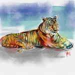 Tiger Variation (1 von 5 verkauft)