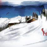 Bürchneralp im Winter